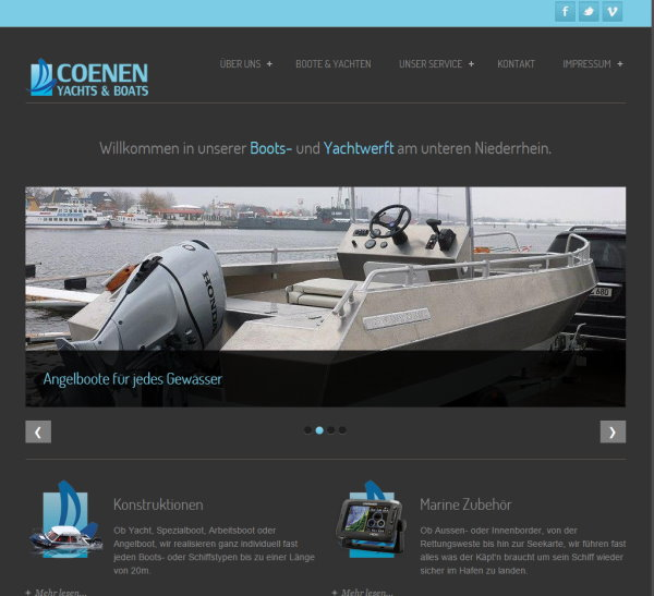 coenen yacht + boats url